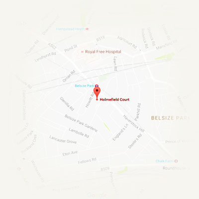 Location - Belsize Park, derwice in home/office/hotel